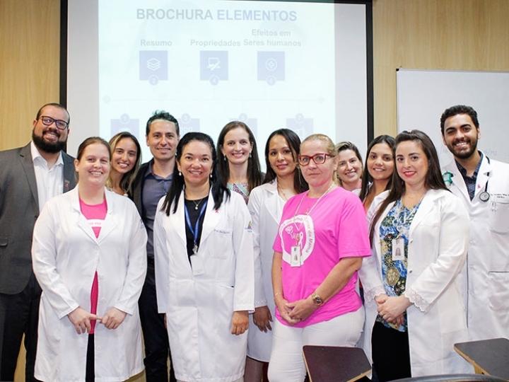Oncologia participa de treinamento em Pesquisa Clínica