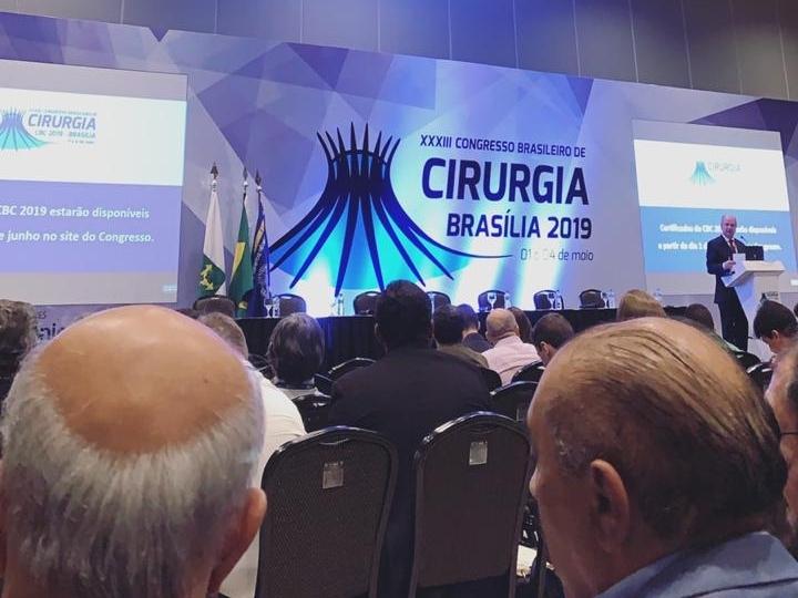 Confira a participação dos Residentes e Acadêmicos no Congresso Brasileiro de Cirurgia