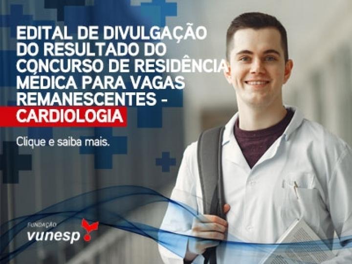 EDITAL DE DIVULGAÇÃO DO RESULTADO DO CONCURSO DE RESIDÊNCIA MÉDICA PARA VAGAS REMANESCENTES