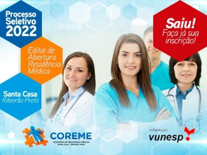 EDITAL DE ABERTURA DE INSCRIÇÕES PROCESSO SELETIVO PARA RESIDÊNCIA MÉDICA Nº 10/2022